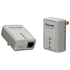 Actiontec 500 Mbps Powerline Network Adapter