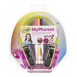 Crayola MyPhones On Ear Headphones Pink