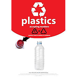 Recycle Across America Plastics With Number
