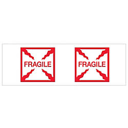 Tape Logic Fragile Box Preprinted Carton