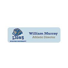 Full Color Printed Name Badge 1