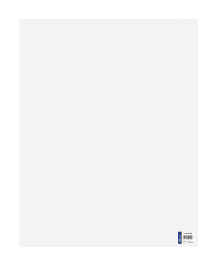 Poster board foam core 48 x 60