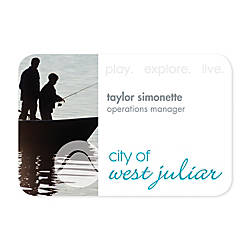 Full Color Printed Name Badge 2