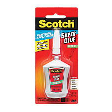 Scotch Super Glue Gel Precision Applicator