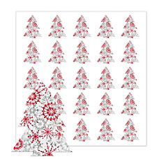 Holiday Seals Tree With Snowflakes Pack
