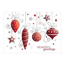 Sample Holiday Card Shaping Up