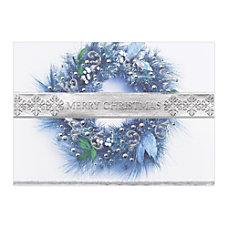 Sample Holiday Card Band of Silver