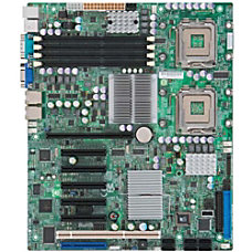 Supermicro X7DWE Server Motherboard Intel Chipset