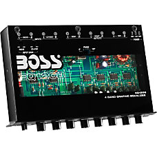 BOSS AUDIO EQ1208 4 Band Pre