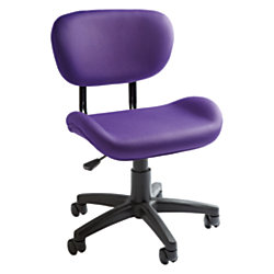 Brenton Studio Bailey Task Chair PurpleBlack By Office Depot OfficeMax