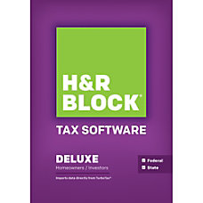 H R Block 14 Deluxe State
