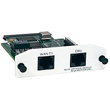 Adtran NetVanta T1FT1 Network Interface Module