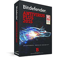 Bitdefender Antivirus Plus 2015 1 User