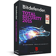 Bitdefender Total Security 2015 1 User