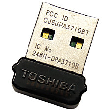 Toshiba Bluetooth 21 Bluetooth Adapter