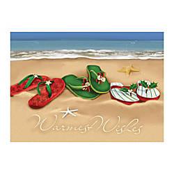 Sample Holiday Card Holiday Beachwear