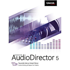 CyberLink AudioDirector 5 Download Version