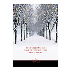 Sample Holiday Card Light the Way