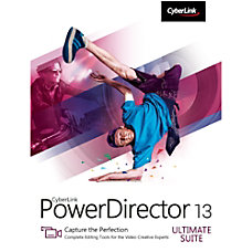 CyberLink PowerDirector 13 Ultimate Suite Download