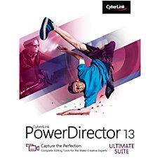 CyberLink PowerDirector 13 Ultimate Suite Download