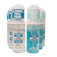 safeHands Hand Sanitizer Foam Clean Linen