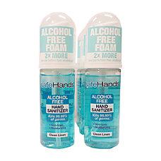 safeHands Clean Linen Scent Alcohol Free