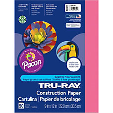 Pacon Tru Ray Sulphite Construction Paper
