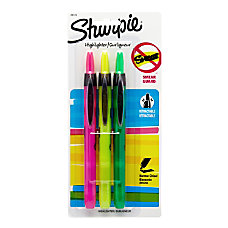 Sharpie Accent Retractable Highlighters Chisel Point