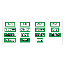 Scholastic Word Wall Word Cards High