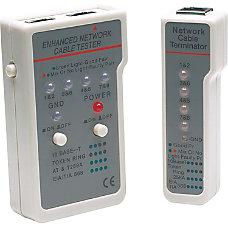 Manhattan Multifunction RJ45RJ11 Cable Tester