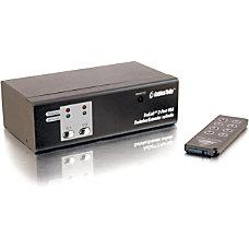 C2G TruLink 2 Port UXGA Monitor