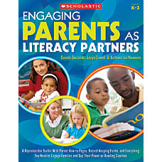 Scholastic Engaging Parents As Literacy Partners