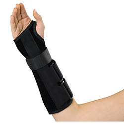 Medline Deluxe WristForearm Splint Right Small