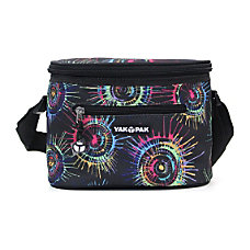 Yak Pak Lunch Tote Black Spin