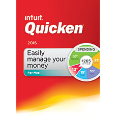 Quicken For Mac 2016 Traditional Disc
