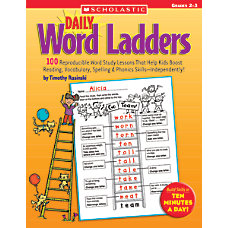 Scholastic Daily Word Ladders Grades 2