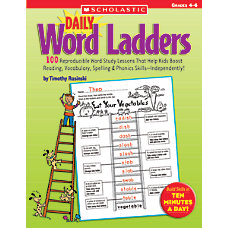 Scholastic Daily Word Ladders Grades 4