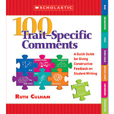 Scholastic 100 Trait Specific Comments
