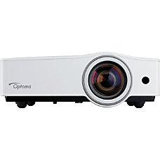 Optoma ZX212ST DLP Projector 720p HDTV
