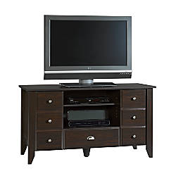 Sauder Shoal Creek Entertainment Credenza TV Stand For TVs