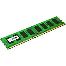 Crucial 4GB 240 pin DIMM DDR3