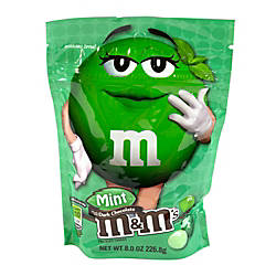 M Ms Dark Chocolate Mint Candies