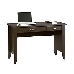 Sauder Shoal Creek Computer Desk Jamocha