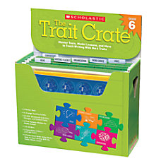 Scholastic The Trait Crate Grade 6