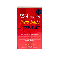 Houghton Mifflin Harcourt Websters New Basic