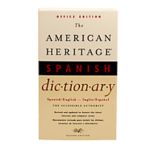 American Heritage SpanishEnglish Dictionary 2nd Edition