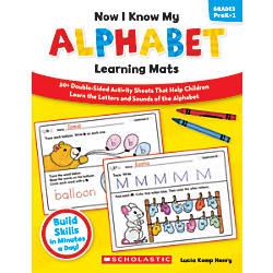 Scholastic Now I Know My Alphabet