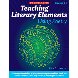Scholastic Teaching Literary Elements Using Poetry