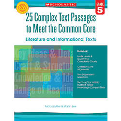 Scholastic 25 Complex Text Passages To