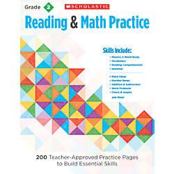Scholastic Reading Math Practice Grade 2